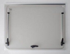 Vitre de remplacement 868×534 pour baie Seitz 900×600 – couleur gris – fenêtre accessoires camping-car: La baie double vitrage comprend les…
