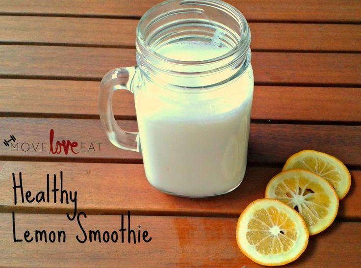 Healthy Lemon Smoothie Recipe