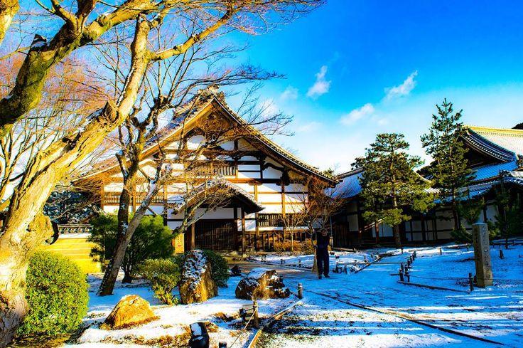 紅葉で有名な高台寺。 冬に訪れたことがなかったので、一度は行って見たかったところです☃️ 秋とは違って静かな冬の高台寺は、のんびりできてとても素敵でした。 晩年のねねが過ごしたお寺を、冬の季節も体感してみてください👌 2018年1月25日に撮影。I shot it on January 25 2018. #京都  #kyoto  #高台寺 #kodaiji  #ねね #京都雪景色  #そうだ京都行こう #japan #artofjapan #lovesーnippon #japantrip #phos_japan #madeinjapan #instagramjapan #kyotophoto #kyotocity