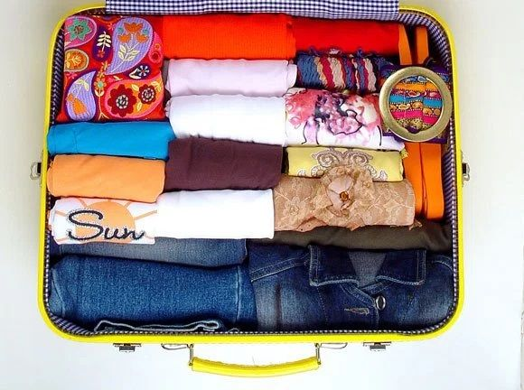 6 dicas úteis para você organizar sua mala de viagem.