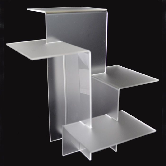 Tiered Acrylic Pedestal Display