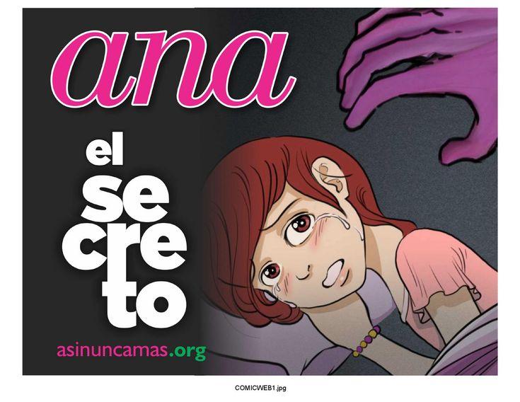 ABUSO SEXUAL INFANTIL Ana webcomic  ABUSO SEXUAL INFANTIL sexual abuse comic web de distribucion gratuita FREE USE www.asinuncamas.org