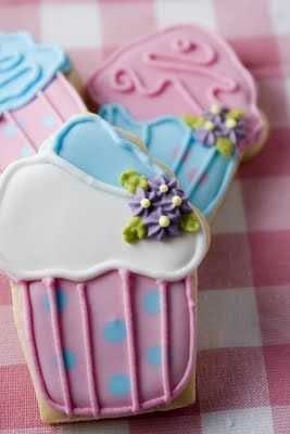 Galletas de cupcakes con recetas (Alma)