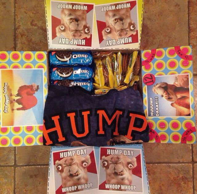 Hump Day care package.