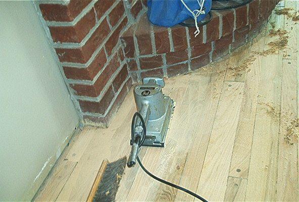 sanding/refinishing hw floors