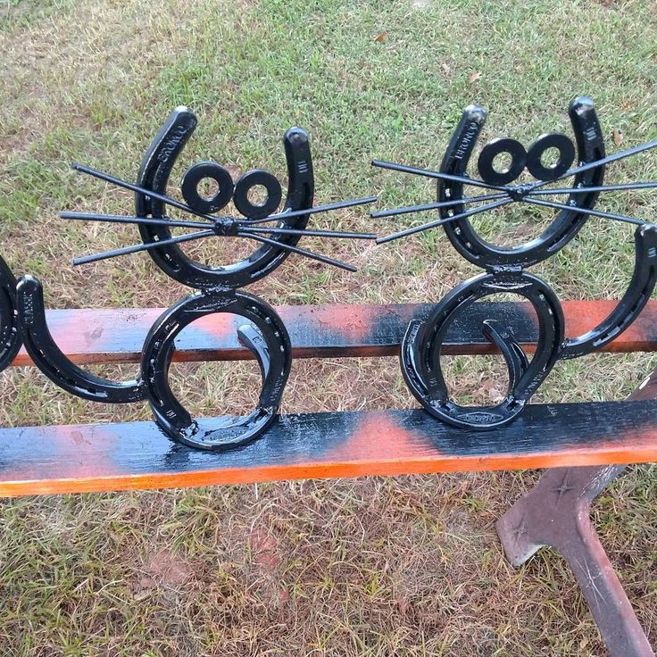 11 MORE pieces of horseshoe art that will make you start hoarding old shoes | Eventing Connect #Horseshoearts&crafts