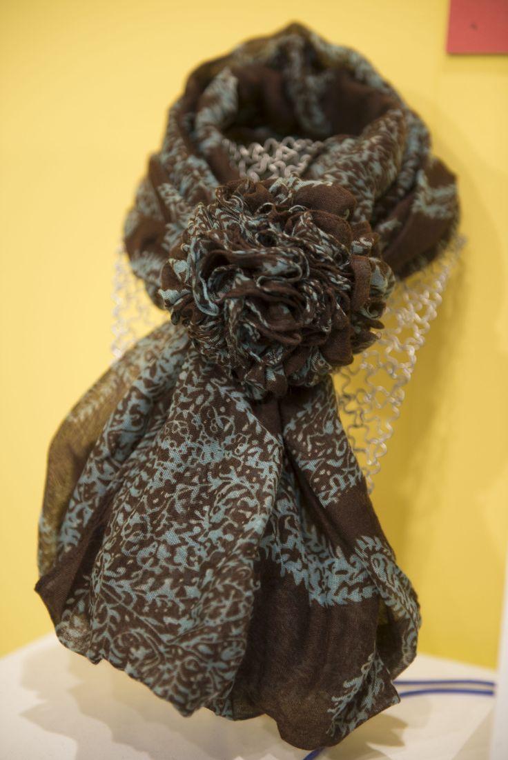 I colori del vostro abbigliamento artigianale! #sciarpe #handmade
