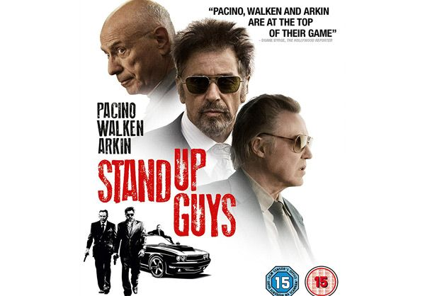 Stand Up Guys Blu-ray Review (2012) Directed by Fisher Stevens Starring Al Pacino, Christopher Walken, Alan Arkin