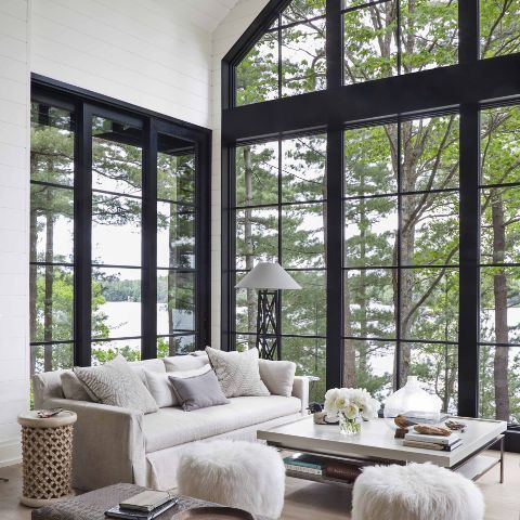 Step Inside an Interior Designer's Dreamy Lakeside Retreat | MyDomaine