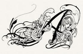 victorian style tattoo -