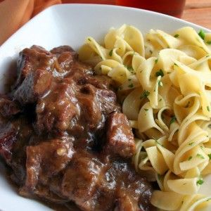 Belgian Beef and Beer Stew (Carbonnades Flamandes)
