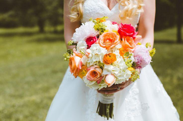 Bridal bouquet by @AuroraFloraOH | Photo by Rachel Joy Baransi http://www.racheljoybaransi.com/