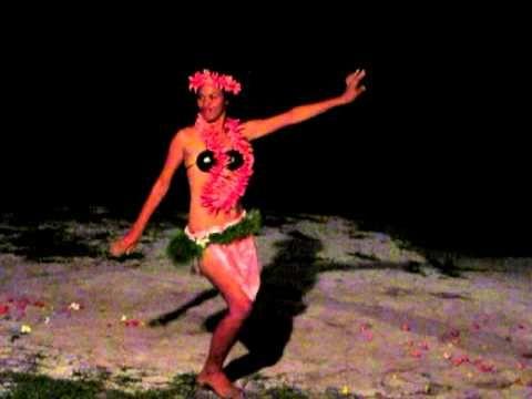 Polynesian Dancers- Aitutaki, Cook Islands - YouTube