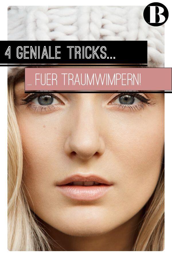 Für einen sexy Augenaufschlag wünschen sich wohl alle Frauen lange und dichte Wimpern. Wer damit nicht von Natur aus gesegnet ist, kann mit diesen einfachen und schnellen Tricks einen tollen Soforteffekt erzielen.