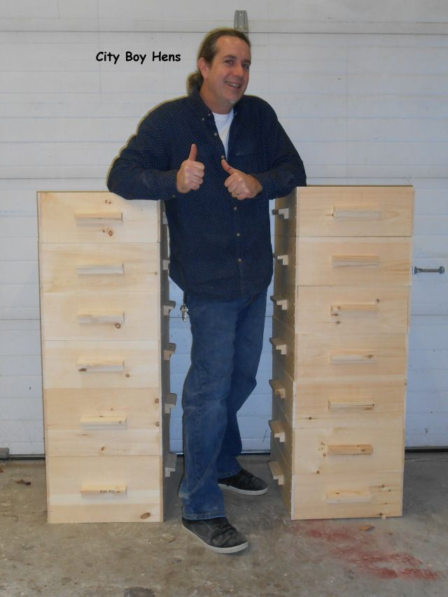 How to Make Honey Bee Boxes on City Boy Hens at http://cityboyhens.com/2014/01/23/how-to-make-a-bee-hive-part-1-honey-supers/