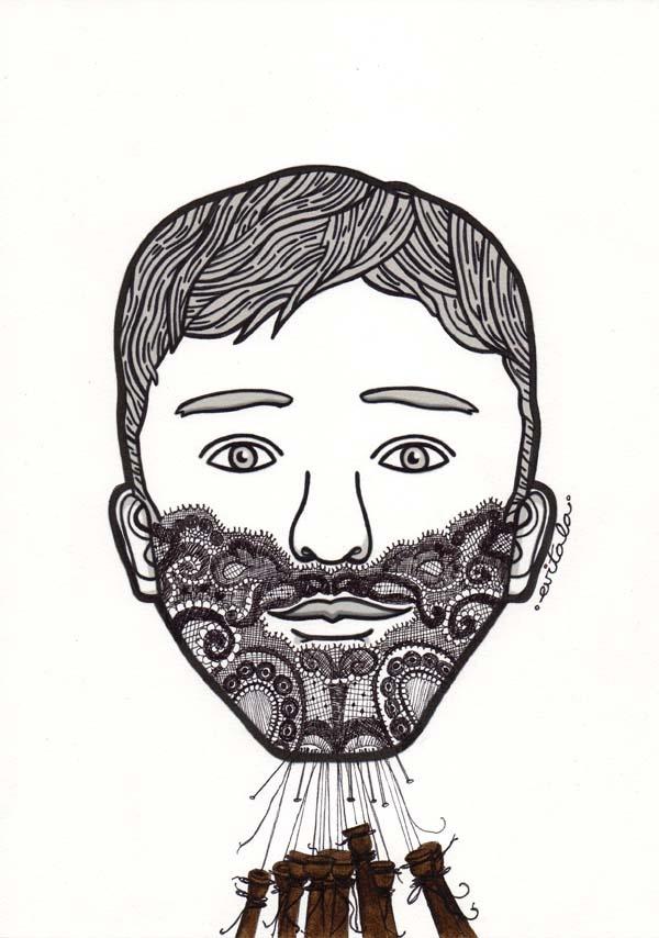 """Ves a fer bolillos"" Illustration by Eva Escoms Estarlich+Yorokobu"