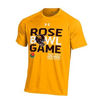 Under Armour® NCAA® University of Iowa Rose Bowl Game Short Sleeve Tee