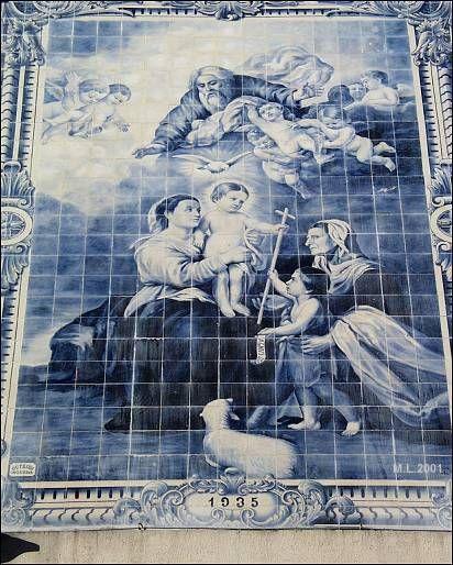 Azulejos da Igreja de Nossa Senhora da Apresentação - Aveiro Portugal
