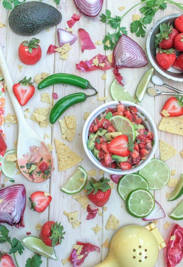 Sweet Strawberry & Avocado Salsa