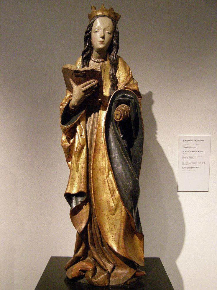 Master Paul of Levoča, St Catherine from Okoličné, c 1510 | Flickr - Photo