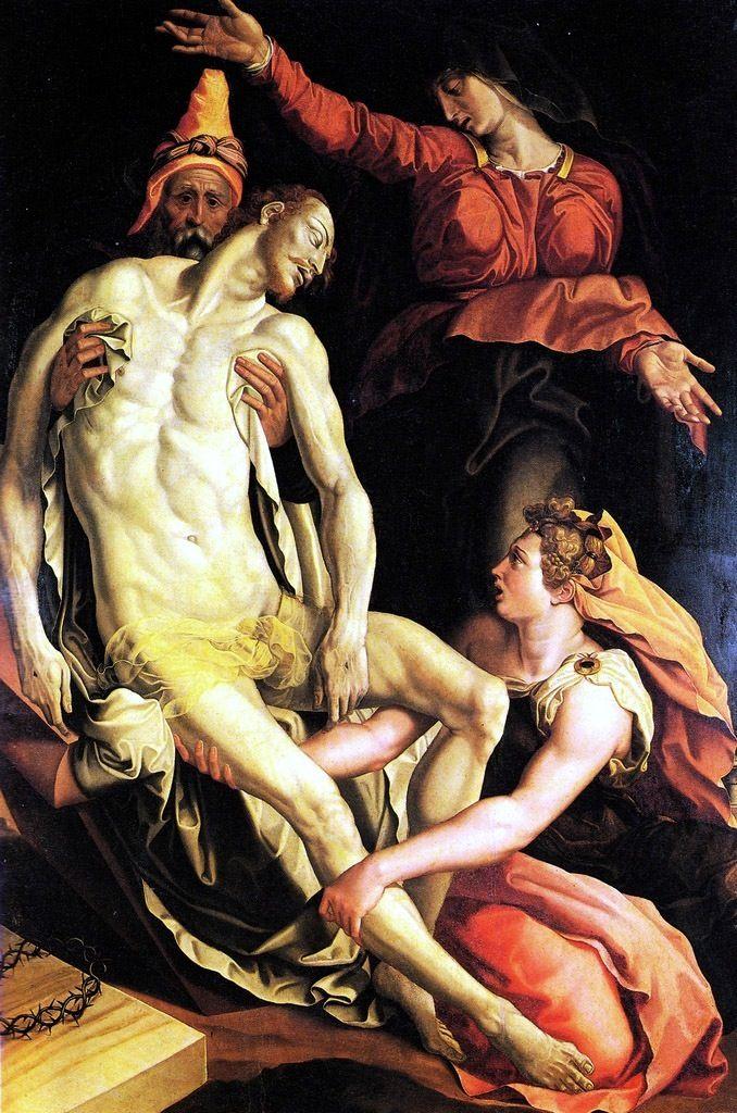 """Jacopino del Conte, """"Pietà"""", 1550"""