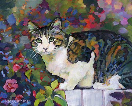 Just Animal Pet Art Paintings by Louisiana Artist Karen Mathison Schmidt. Saved by monkeetree.com