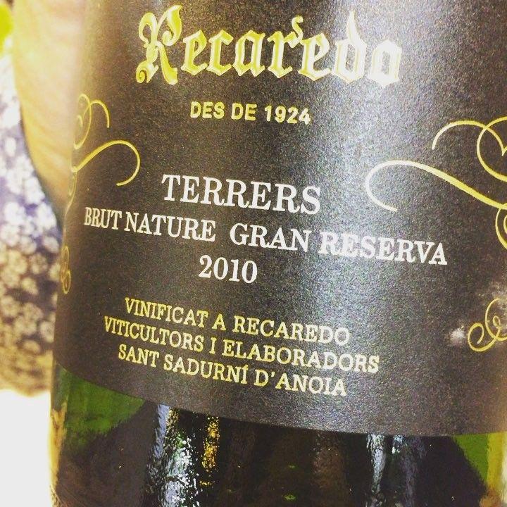 Recaredo Terrers Brut Nature Gran Reserva 2010 (Cava Ecológico) #vino #cava #ecologico #videocata #uvinum @cava.recaredo  #92puntosUvinum