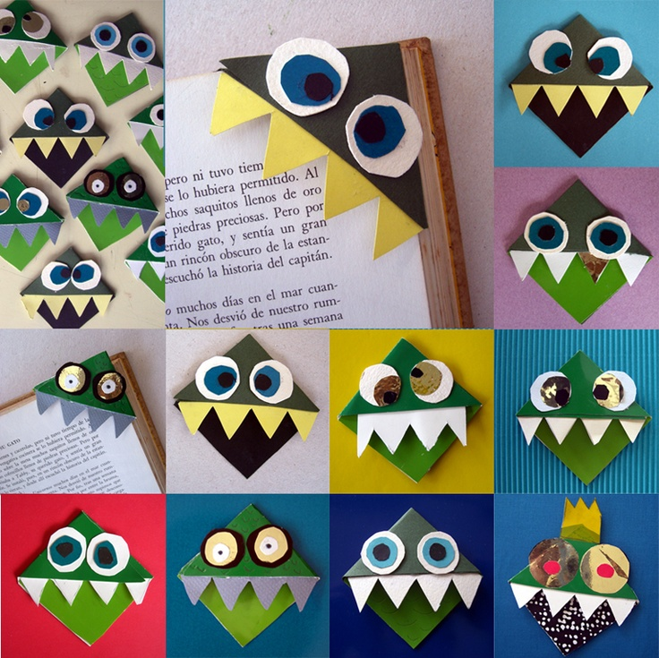 monsters - might be a good idea at the beginning of the year before 1st trip to the library