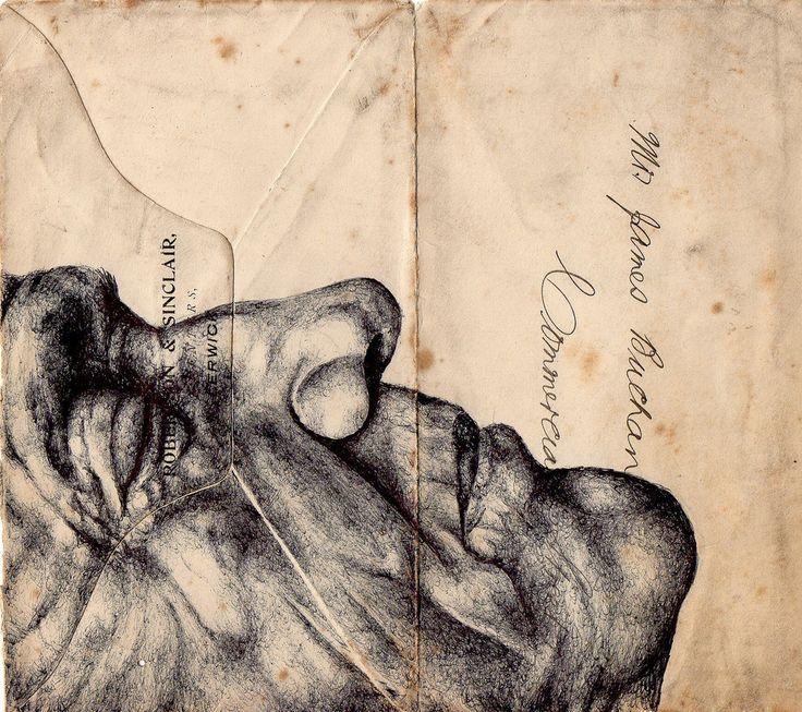 bic biro on 1912 envelope   Flickr - Photo Sharing!