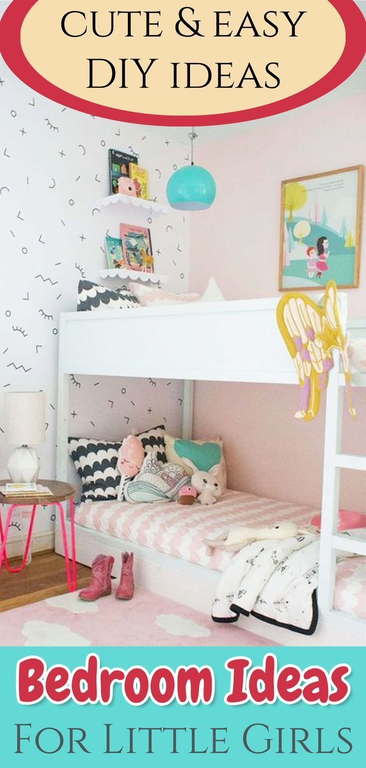 Bedroom Ideas For Little Girls Cute Easy Diy Bedroom