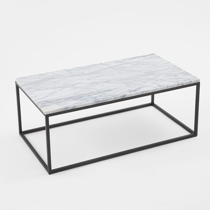 Box Frame Coffee Table - Marble