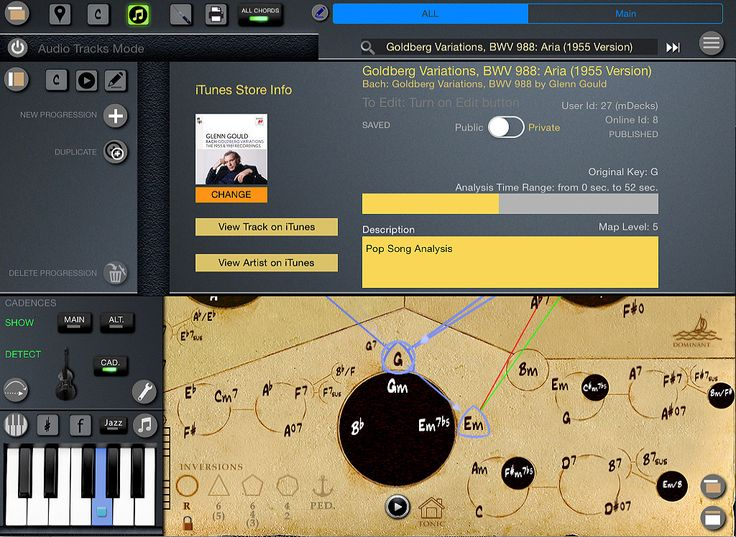 Mapping Tonal Harmony Pro - Study tonal harmony like never before! One music app and seven workbooks.