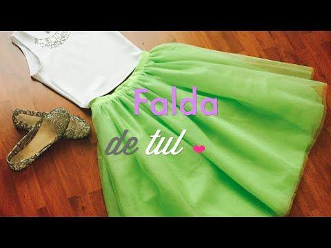 Falda De Tul Circular/Tutu Skirt / Video Petición - YouTube