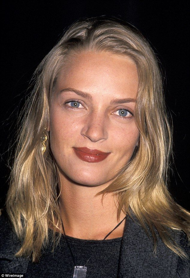 Young and restless: Uma, seen here in 1993, is known to be one of the most beautiful movie actresses of her time