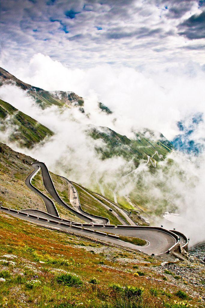 The Stelvio Pass, Italy