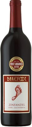 Another great and inexpensive Zin....we like the Barefoot wines not just for the price.  These wines actually taste great.