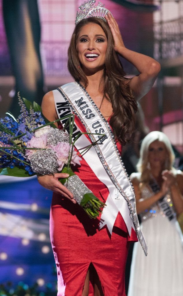 Nia Sanchez, Miss Nevada, was crowned Miss USA at the pageant at the River Center in Baton Rouge, Louisiana. #missusa #pageants