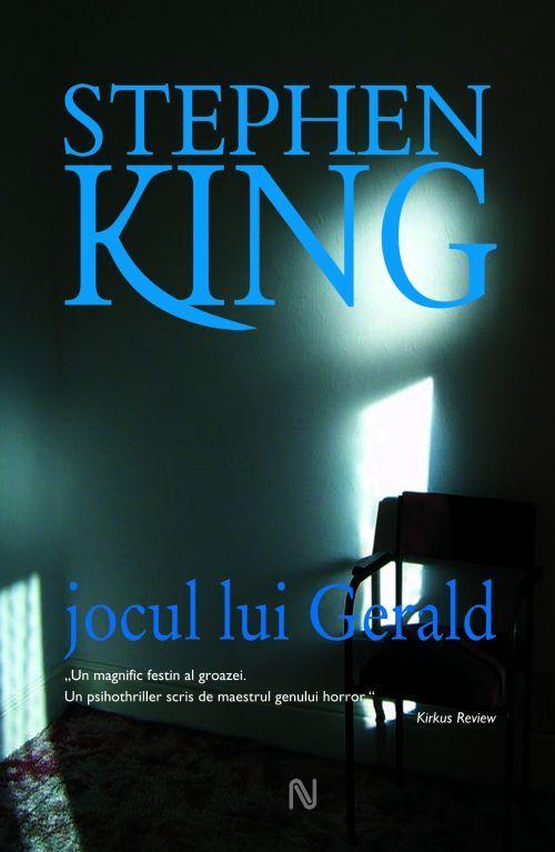 Jocul lui Gerald - Stephen King, de simbata, 7 iulie, impreuna cu Ziarul de Iasi la doar 10 lei