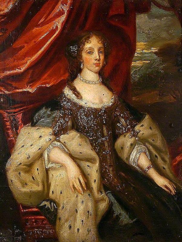 Catherine of Braganza (1638–1705), Queen Consort of King Charles II by Caspar Netscher
