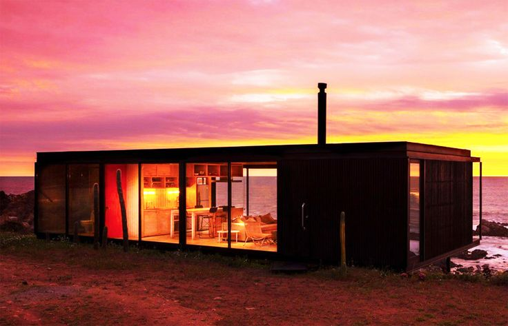 Remote House is a sustainable modular home that can be anchored anywhere in the world