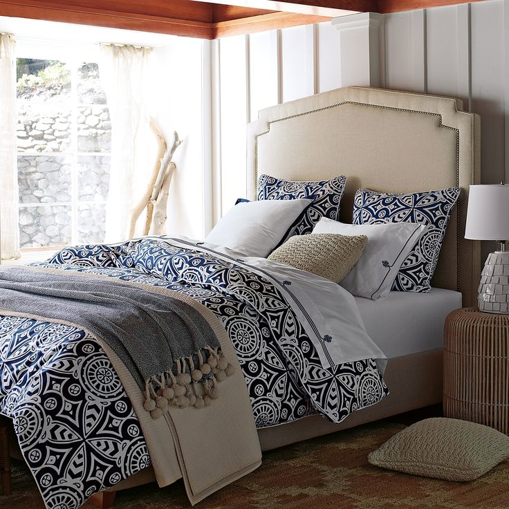 Serena Lily Love The Burlap Look Of The: 1000+ Ideas About Navy Duvet On Pinterest