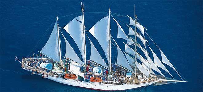Een cruise met Star Clippers staat garant voor een unieke cruise-ervaring, Boek een cruise met luxe authentieke zeilschepen naar bijzondere bestemmingen.