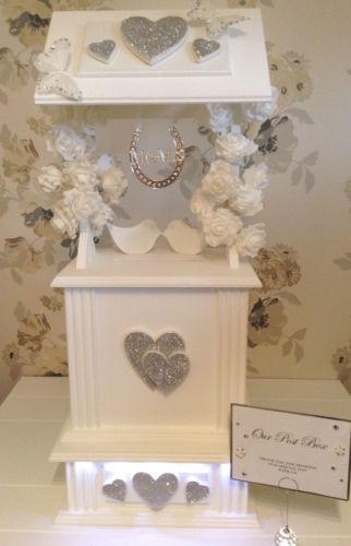 Low Cost Large Wedding Wishing Well Card Posting Box