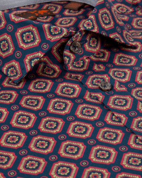 TIGGY - Geo print shirt - from Ted Baker
