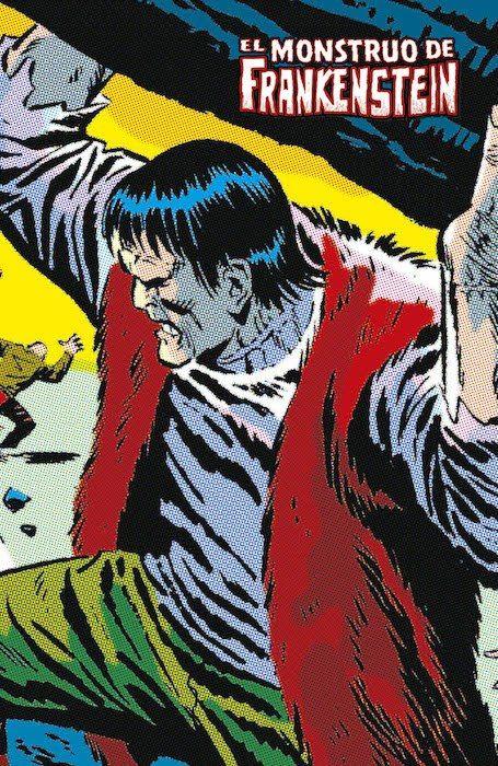 ¡Terror al estilo Marvel! Una recopilación impresionante, con la trayectoria del legendario monstruo de Frankenstein a lo largo del Universo Marvel. Una odisea que le colocará frente a amenazas como Drácula, el Hombre Lobo y mucho más. (Fuente: Uiverso Marvel)
