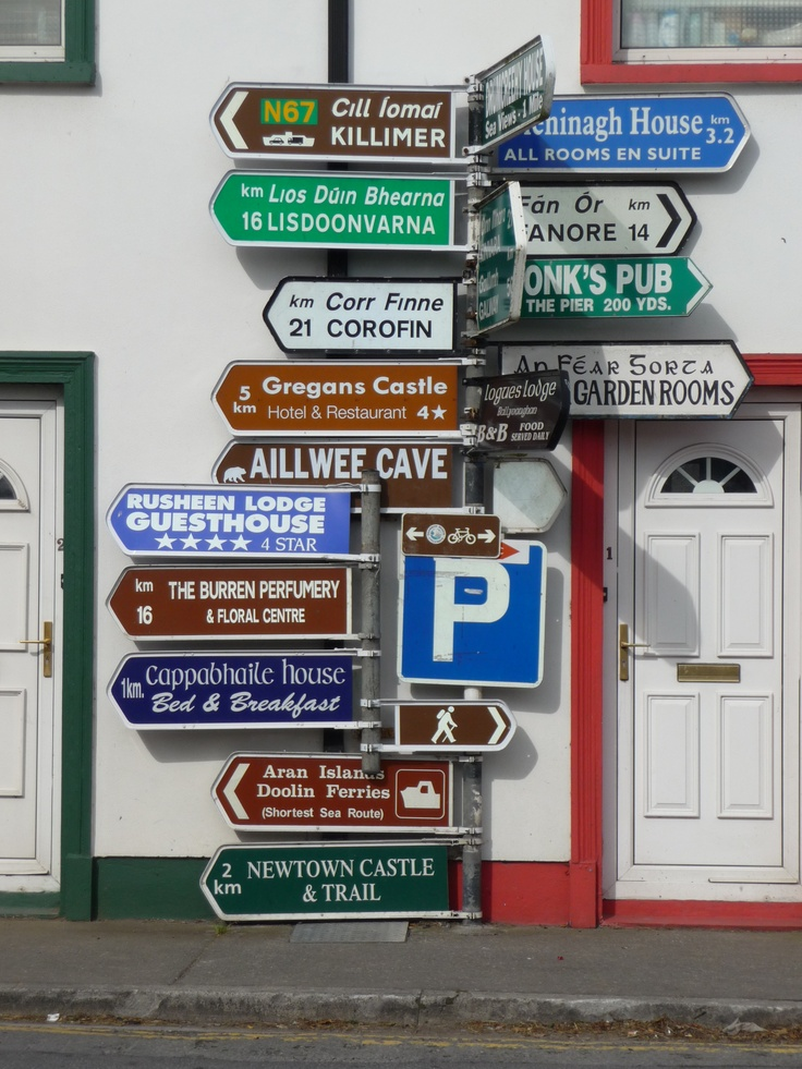 Where to Go.. #Ireland