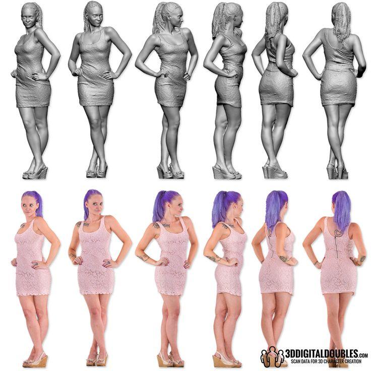 3D Scan Data by; 3DScanLA.com & 3DDigitalDoubles.com | anatomy ...