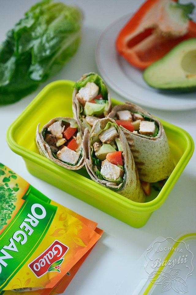 Wrapy z kurczakiem w ziołach Galeo są moją propozycją sycącego i zdrowego obiadu do pracy. Sprawdź już dziś przepis! Pycha!