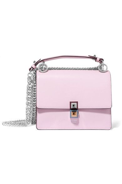 Baby-pink leather  Push-lock fastening front flap  Designer color: Peonia  Weighs approximately 1.5lbs/ 0.7kg Made in Italy