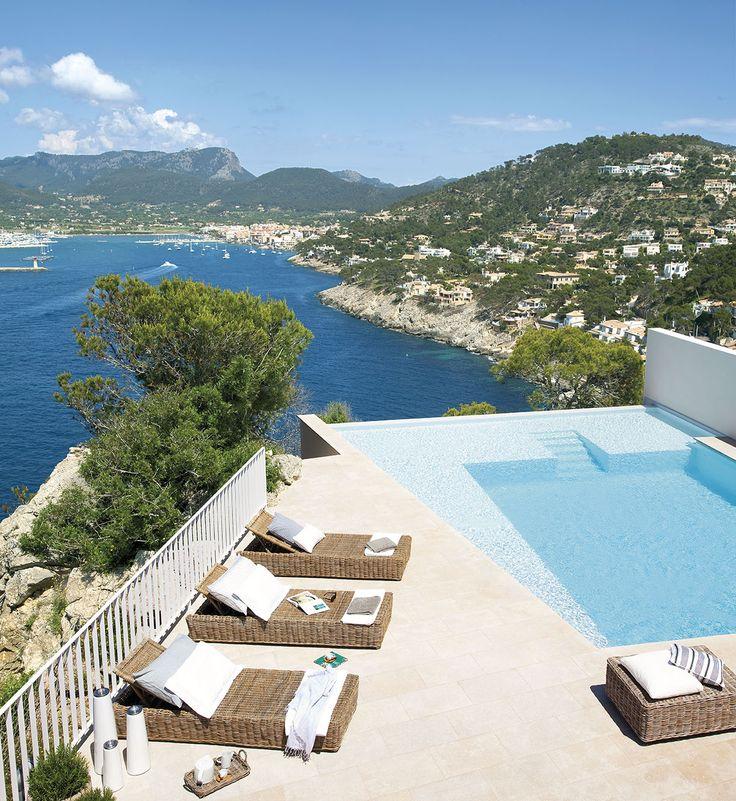 Infinity pool Casas frente al mar, Piscinas y Casas de playa
